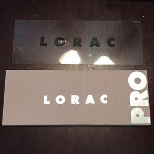 Lorac pro 3 eye shadow palette